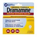 Deals List: Dramamine Original Formula Motion Sickness Relief 36 Count