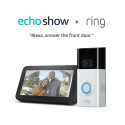 Deals List: Ring Video Doorbell 2 with Echo Show 5 (Charcoal)