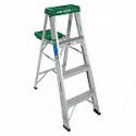 Deals List: Werner 4 ft. Aluminum Step Ladder with 225 lb. Load Capacity Type II Duty Rating