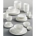 Deals List: Gibson White Elements Fleetwood 42-Pc. Dinnerware Set