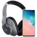Deals List: Samsung Galaxy S10 Factory Unlocked Phone with 128GB, (U.S. Warranty) - Prism White w/AKG N700NC Headphones