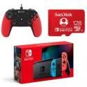 Deals List: Nintendo Switch 32GB Console + 128GB SD Card + Controller
