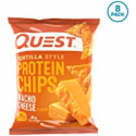 Deals List: Quest Nutrition Tortilla Style Protein Chips, Nacho Cheese, Low Carb, Gluten Free, Baked, 1.1 Ounce (Pack of 8)