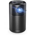 Deals List: Nebula Capsule, by Anker, Smart Wi-Fi Mini Projector, Black, 100 ANSI Lumen Portable Projector, 360° Speaker, Movie Projector, 100 Inch Picture, 4-Hour Video Playtime, Outdoor Projector—Watch Anywhere