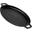 Deals List: Pre-Seasoned Cast Iron Skillet 2-Piece Set (10-Inch and 12-Inch) Oven Safe Cookware - 2 Heat-Resistant Holders - Indoor and Outdoor Use - Grill, Stovetop, Induction Safe