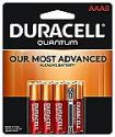 Deals List: Duracell Quantum AAA Alkaline Batteries - 8 count