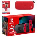 Deals List: Nintendo Switch Mario Red Joy-Con Bundle w/ $20 Nintendo eShop Credit & Carrying Case
