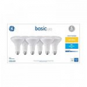 Deals List: 6-Pack GE Basic 65-Watt EQ LED Br30 Soft White Dimmable SpotLight Bulb