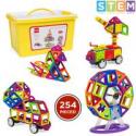 Deals List: BCP 254-Piece Kids Magnetic Building Tiles Toy Set