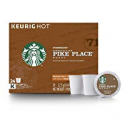 Deals List: Starbucks Pike Place Roast Medium Roast Single Cup Coffee for Keurig Brewers, 4 Boxes of 24 | Great Holiday Gift for Coffee Lovers