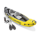 Deals List: Intex Challenger K1 Kayak, 1-Person Inflatable Kayak Set with Aluminum Oars and High Output Air Pump