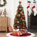 Deals List: Holiday Time Pre-Lit Christmas Tree 5 ft with Decorations