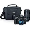 Deals List: Canon EOS Rebel T6 DSLR Camera w/18-55mm and 75-300mm Lenses + $80 Kohls Cash