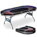 Deals List: ESPN 10 Player Premium Poker Table w/In-Laid LED Lights