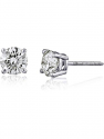 Deals List:  The Diamond Channel AGS Certified 14K Gold Brilliant Cut Diamond Stud Earrings (I2-I3 Clarity), Choice of Carat Weight