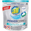 Deals List: 36-CT ALL PowerCore Pacs Laundry Detergent Plus Removes Odors