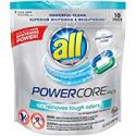 Deals List: 36-CT ALL PowerCore Pacs Laundry Detergent Plus Removes Odors