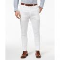 Deals List: Lauren Ralph Lauren Mens Classic-Fit Solid Linen Dress Pants