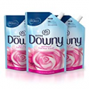 Deals List: Downy Ultra Liquid Fabric Conditioner (Fabric Softener), April Fresh, 48 Oz Smart Pouches, 3 Pack, 168 Loads Total