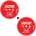 Deals List: 2-Pack Diablo 7-1/4 in. x 40-Tooth Finish Saw Blade