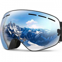Deals List: ZIONOR X Ski Snowboard Snow Goggles OTG Design for Men Women with Spherical Detachable Lens UV Protection Anti-Fog