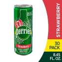 Deals List: Perrier Strawberry Flavored Carbonated Mineral Water, 8.45 Fl Oz (30 Pack) Slim Cans