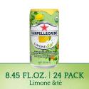Deals List: Sanpellegrino Limone &te Sparkling Organic Juice & Tea Beverage Blend 8.45 fl oz. (24 Pack)