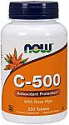Deals List: Now Supplements, Vitamin C-500, 250 Tablets