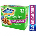 Deals List: Blue Diamond Almonds Whole Natural Raw Almonds 100 Calorie On The Go Bags, 32 Count