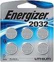Deals List: Energizer CR2032 Batteries, 3V Lithium Coin Cell 2032 Watch Battery, (6 Count)