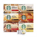 Deals List: Starbucks Flavored Coffee K-Cup Variety Pack for Keurig Brewers, 6 boxes of 10 (60 total K-Cup pods), 60 Count