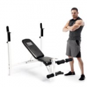 Deals List: Marcy Fitness Adjustable Olympic Weight Lifting Workout Bench