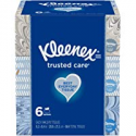 Deals List: 6-Pack Kleenex Trusted Care Everyday Facial Tissues 144-Ct