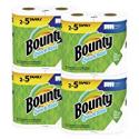 Deals List: Bounty Quick-Size Paper Towels, White, 8 Family Rolls = 20 Regular Rolls