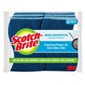 Deals List: Scotch-Brite Non-Scratch Scrub Sponge, Cleaning Power for Everyday Jobs, 6 Scrub Sponges