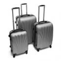 Deals List: Aleko LG48SL Abs Luggage Suitcase Set w/Lock, 3 Piece