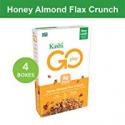 Deals List: 4-Pk Kashi GO Honey Almond Flax Crunch Breakfast Cereal 14 oz