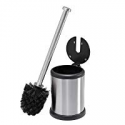 Deals List: Bath Bliss Stainless Steel Compact Toilet Brush Set w/Lid