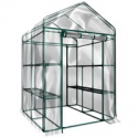 Deals List: Home Complete 2-Tier 8 Shelves Walk-In Greenhouse HW155001