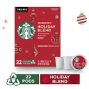 Deals List: 22-Pack Starbucks Holiday Blend Roast Coffee Single-Cup Coffee