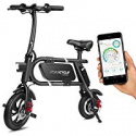 Deals List: SWAGCYCLE Envy E-Bike Steel Frame Folding Electric Bicycle