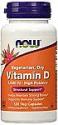 Deals List: 120-Count NOW Supplements Vitamin D 1000 IU Capsules