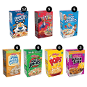 Deals List: Kellogg's, Breakfast Cereal, Single-Serve Boxes, Variety Pack ,48 Count