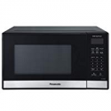 Deals List: Panasonic Compact Microwave Oven with 900 Watts of Cooking Power, Popcorn Button, Quick 30sec and Auto Defrost - NN-SB458S - 0.9 cu. ft (Black)