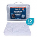 """Deals List: Poly-Fil Weighted Blanket Insert 42"""" X 72"""" - 12LB"""