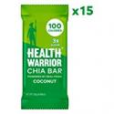 Deals List: HEALTH WARRIOR Chia Bars, Coconut, Gluten Free, Vegan, 25g bars, 15 Count