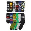 Deals List: Mens 12 Days of Socks, Manly Prints