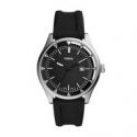 Deals List: Fossil Belmar Three-hand Date Black Silicone Watch FS5535P