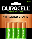Deals List: Duracell - Ion Speed 1000 Battery Charger with 4 AA Batteries - charger for AA and AAA batteries