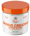 Deals List: Genius Creatine Powder, Post Workout Supplement For Men and Women with Creapure Monohydrate, Hydrochloride Hcl MagnaPower and Carnosyn Beta-Alanine SR, Natural Lean Muscle Builder – Sour Apple, 188G